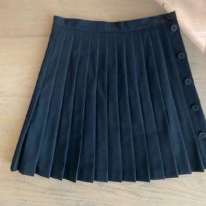 Cerutti 1881 Grey Wool Skirt